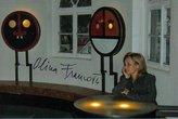 Svítící skládací stolky, galerie Bé, Smržovka