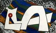 """Z cyklu """"Na dece"""", 150 x 250 cm"""